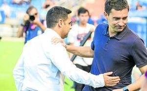 Garitano: «La semana pasada fue Pacheco y esta ha aparecido Diego López»