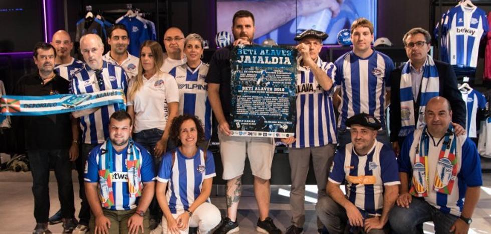 El Beti Alavés Jaialdia pintará Mendizorroza de albiazul ante el Mallorca