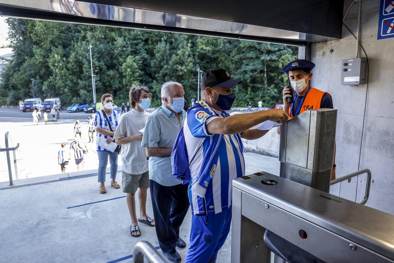 Las mejores imágenes del Real Sociedad - Alavés