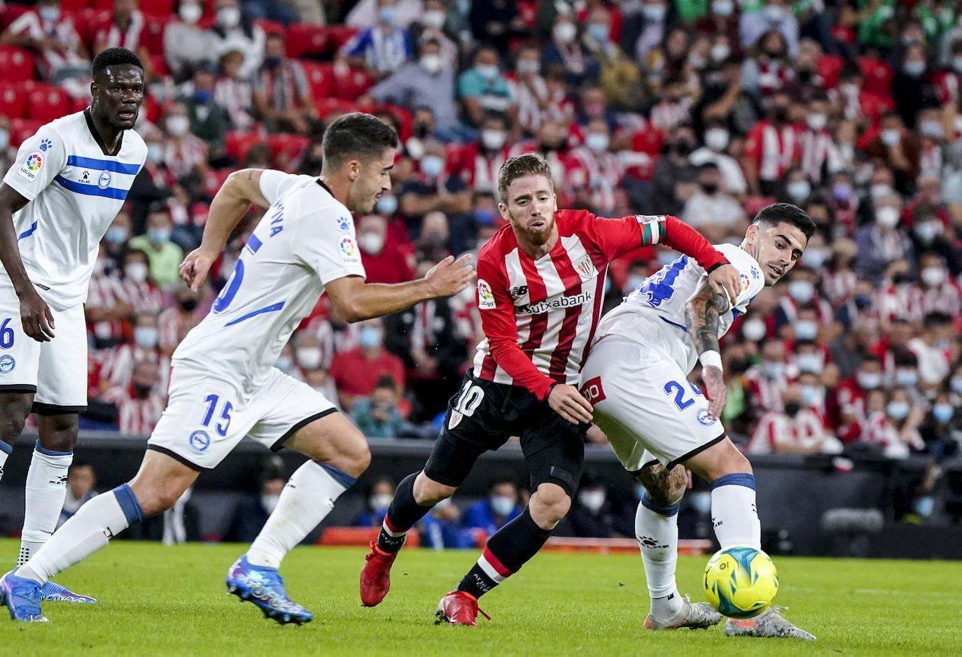Las mejores imágenes del Athletic - Alavés