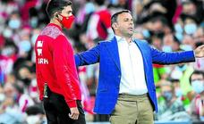 Calleja: «Nos ha costado generar peligro durante el partido»