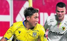 Taichi Hara marca su primer gol con el Sint-Truidense
