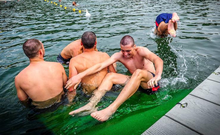 El Athletic se baña en Suiza