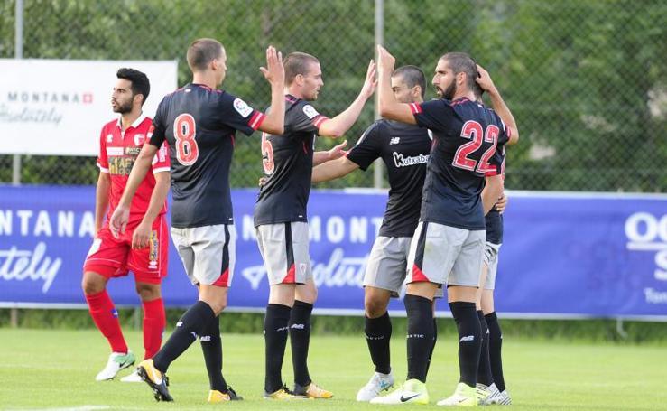 Las mejores imágenes del Sion 0 - Athletic 2