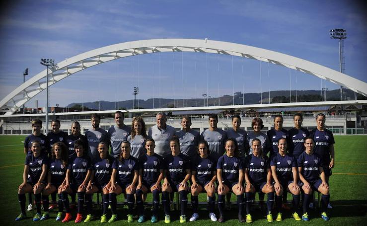 La plantilla del Athletic femenino para la temporada 2017/2018