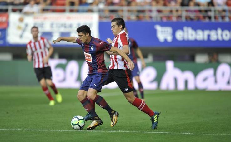 Las mejores imágenes del Eibar - Athletic de la Liga Santander