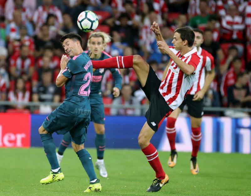 Las mejores imágenes del Athletic - Atlético de Madrid de Liga 2017-18