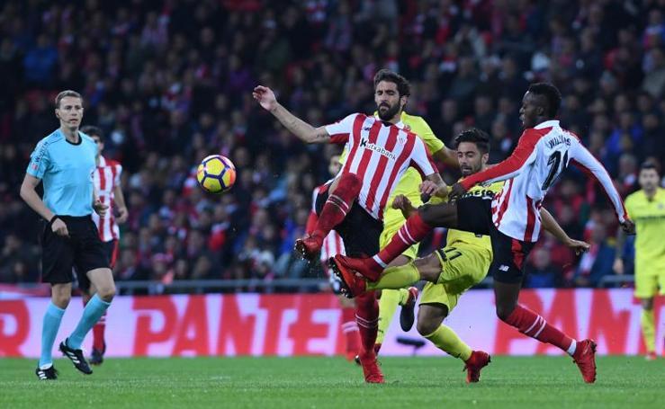 Las mejores imágenes del Athletic - Villarreal