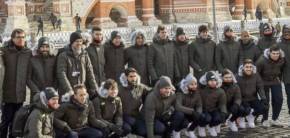El Athletic busca encenderse en el frío de Moscú