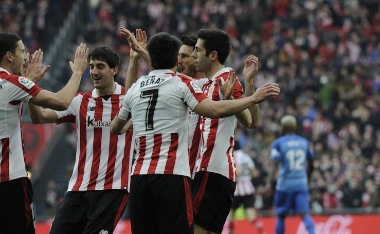 Athletic - Málaga, en imágenes
