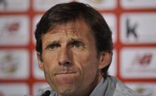 Ziganda apela al primer tiempo contra el Málaga para frenar las críticas