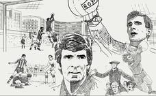 La historia de Iribar, en viñetas