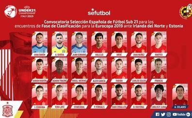 Simón, Núñez y Córdoba, fijos en la Sub'21