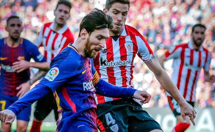Barcelona-Athletic, en imágenes