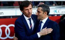 Valverde, sobre Ziganda: «Es un entrenador muy capaz»
