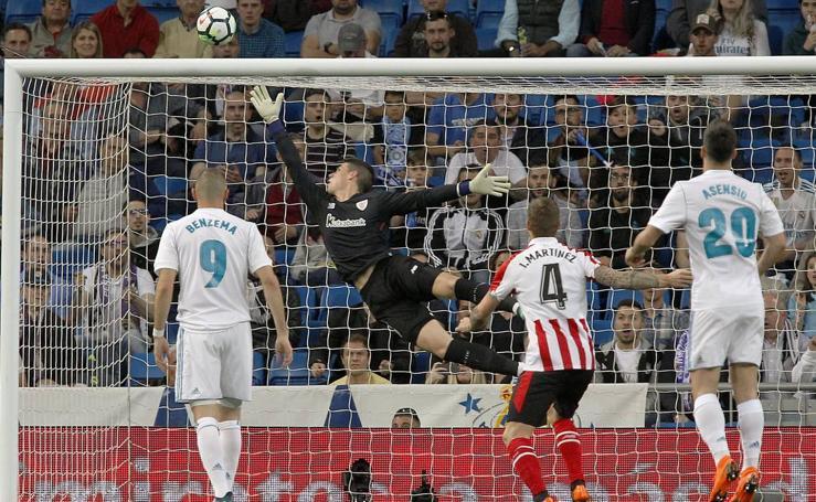Real Madrid - Athletic, en imágenes