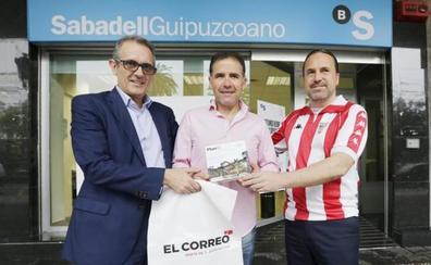 Eugenio Rodríguez, ganador del sorteo del 'mejor jugador del Athletic': «Voté a Iñigo Martínez, Kepa y, creo, Susaeta»