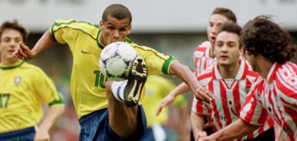 Cuando el Athletic empató contra Brasil en San Mamés