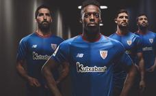 El Athletic vuelve al azul en la segunda camiseta