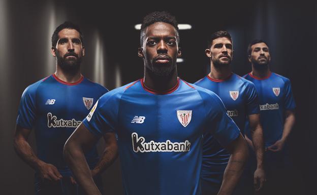 El Athletic vuelve al azul en la segunda camiseta. Raúl García fed2f1be12393