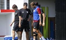 Iñigo Martínez se lesiona el gemelo izquierdo