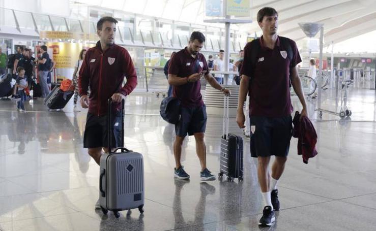 El Athletic viaja para afrontar la pretemporada