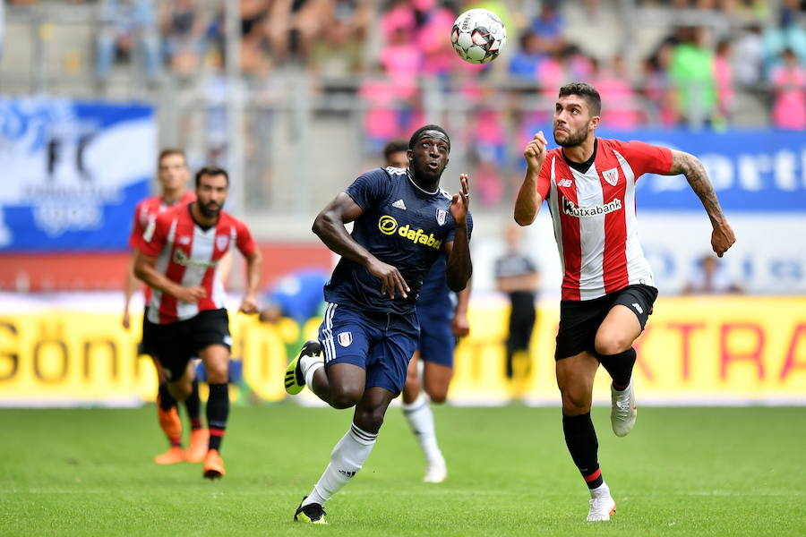 El Athletic-Fulham, en imágenes