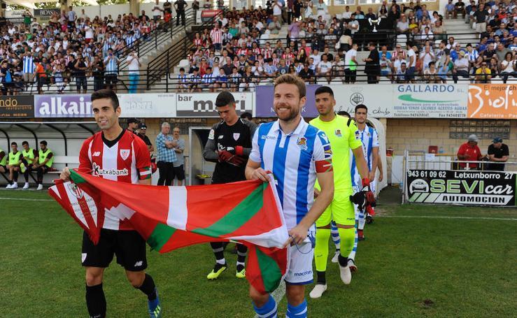 Athletic-Real Sociedad, en imágenes