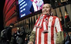 Fallece el seguidor del Athletic de 90 años que cumplió su sueño de visitar La Catedral