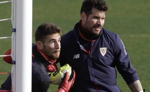 El portero Unai Simón regresa al Athletic ante la lesión de Herrerin