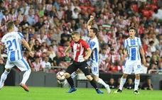 Las mejores imágenes del Athletic - Leganés