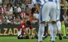 Aduriz será baja ante el Huesca y podría reaparecer tras el parón liguero