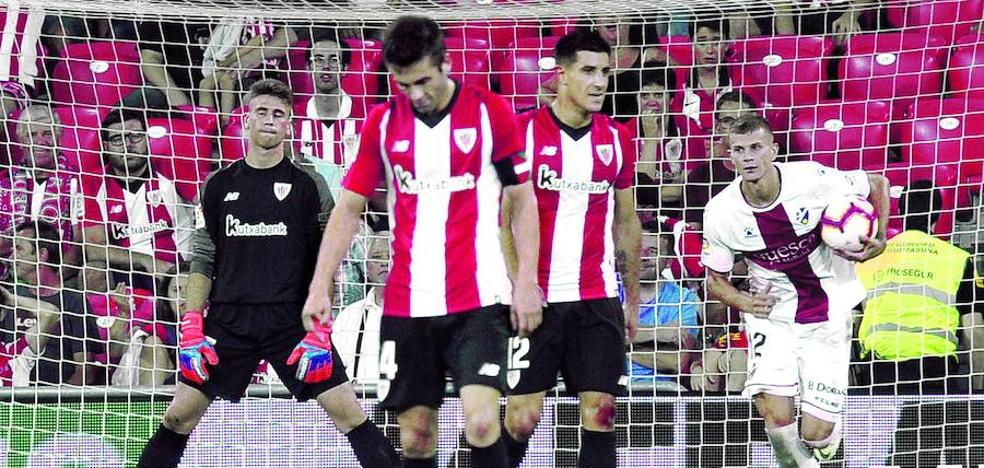 El Athletic sigue en el taller