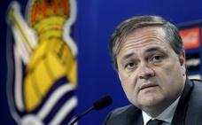 El presidente de la Real elogia a Remiro: «Es un gran portero»
