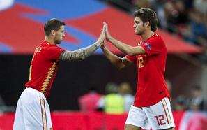 Iñigo Martínez es duda a tres días del duelo ante el Madrid