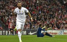 Benzema, una pesadilla para el Athletic