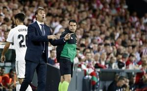 «Ha sido un partido intenso, bravo, muy Athletic», dice Lopetegui