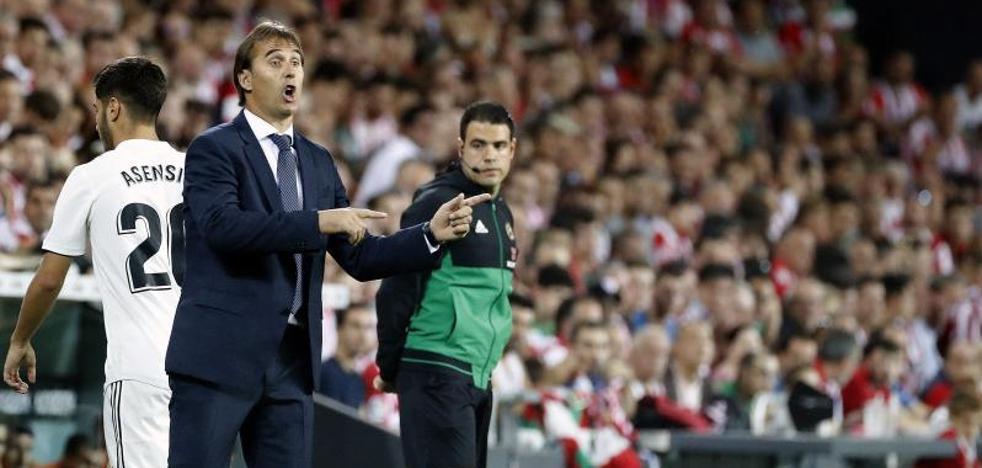 «Ha sido un partido intenso, bravo, muy Athletic», dice Lopetegui