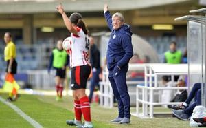«A ver si podemos pegarle un bocado importante al Atlético», señala Joseba Agirre