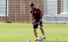 Aduriz está listo para jugar ante el Villarreal