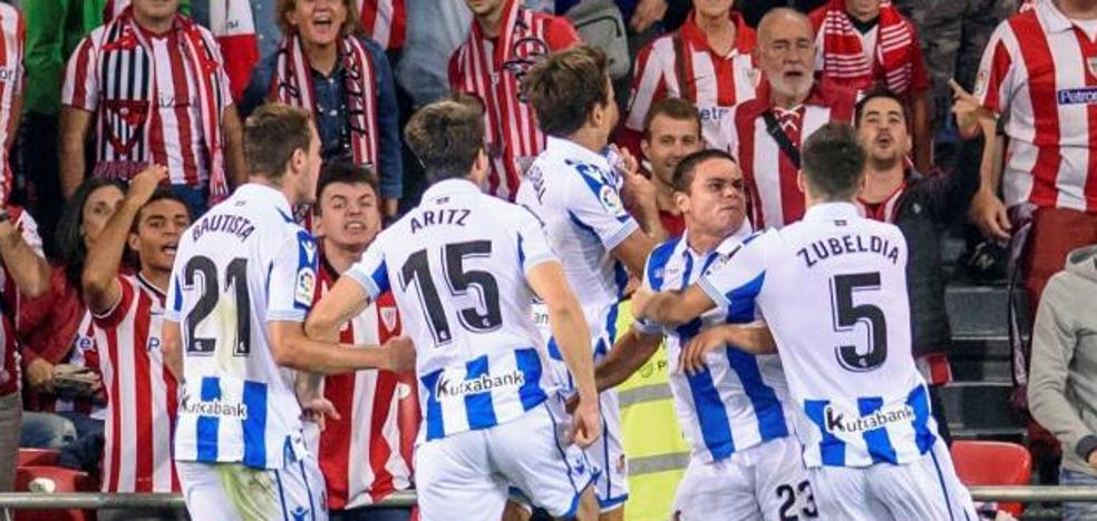 El penalti en contra del Athletic, primera intervención del VAR en San Mamés