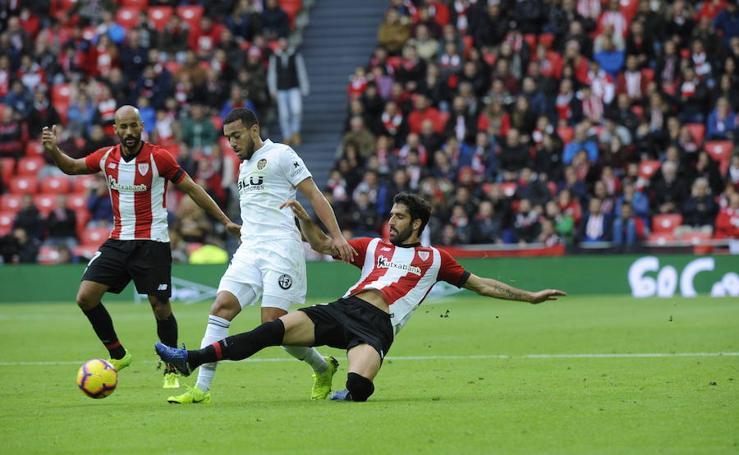 El Athletic-Valencia, en imágenes