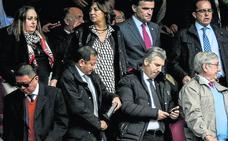 Preocupación en el palco y en las gradas de San Mamés