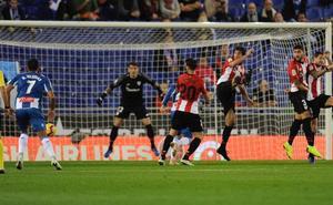 Vídeos del resumen y del gol del Espanyol-Athletic