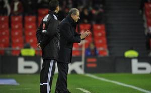 Amorrortu atiende las quejas de Garitano y hace una convocatoria sub'23 con solo siete jugadores del Bilbao Athletic