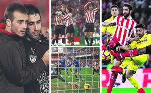 Cuatro temporadas en las que el Athletic salió del pozo estando igual o peor que ahora