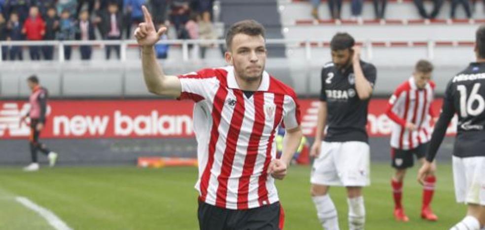 El Manchester United espía a Iñigo Vicente, del Bilbao Athletic