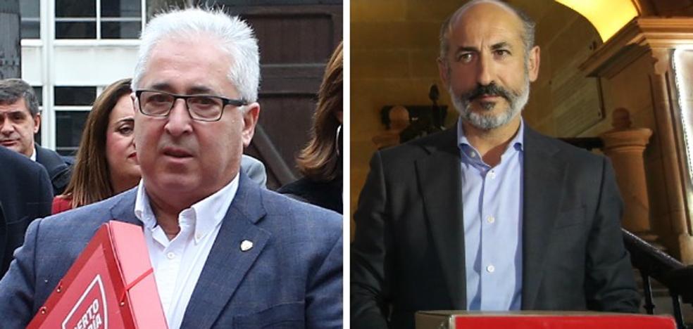 Uribe-Echevarría presenta 4.000 firmas y Elizegi 3.120 en la carrera hacia Ibaigane