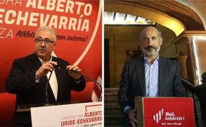 Uribe-Echevarría logra mil firmas más que Elizegi