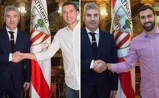 Urrutia irrumpe en la campaña y renueva a De Marcos y a Balenziaga sin cláusula